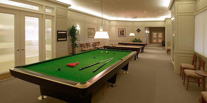 Skymark West Billiards Room