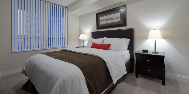 Etobicoke Serviced Apartments Nuvo Bedroom