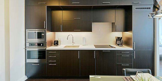 North York Condo Rentals Hullmark Kitchen