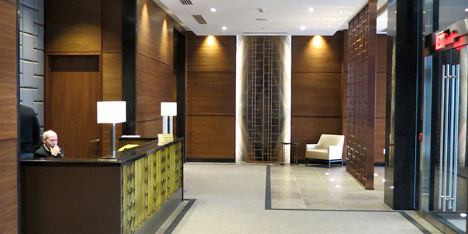 North York Corporate Housing Hullmark Lobby
