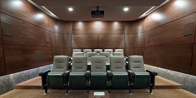 North York Executive Rentals Hullmark Theatre Room