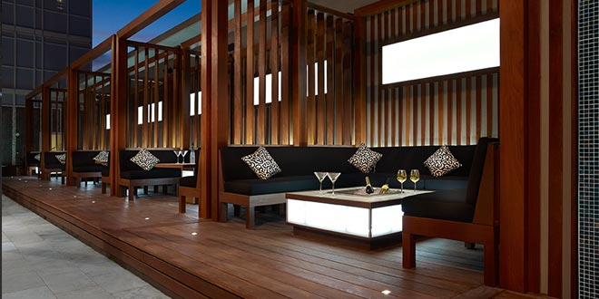 Downtown Toronto Extended Stays 300 Front Outdoor Cabana Lounge