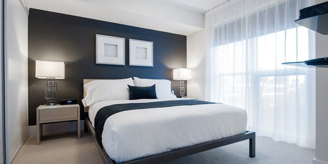 Downtown Toronto Furnished Accommodations 300 Front Bedroom