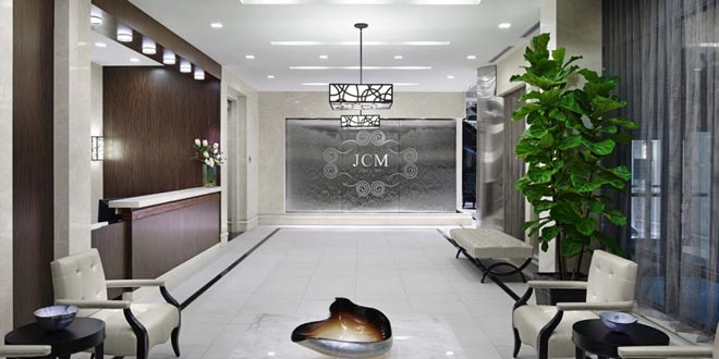 Downtown Toronto  Furnished Suites James Cooper Mansion Lobby