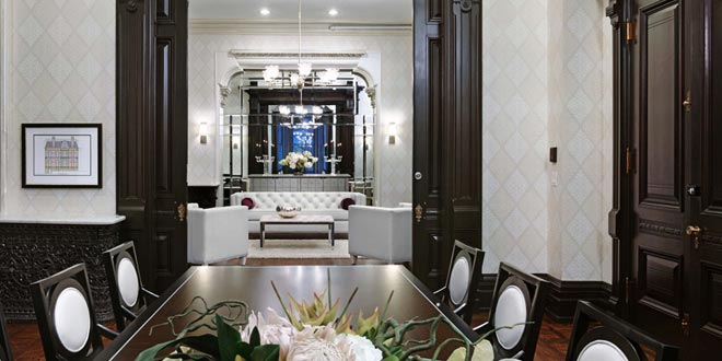 Downtown Toronto  Extended Stays James Cooper Mansion Party Room