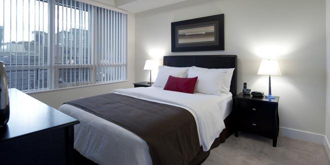 Downtown Toronto  Short Term Apartment Rentals James Cooper Mansion Bedroom