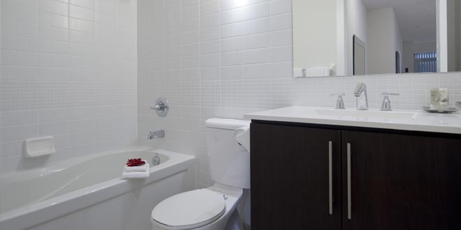 Extended Stays Downtown Toronto  James Cooper Mansion Bathroom