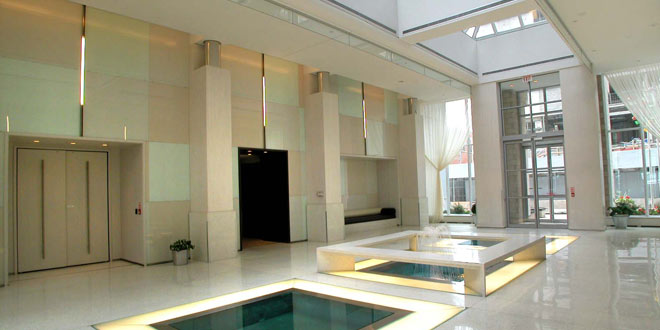 Downtown Toronto Serviced Apartments Icon Lobby