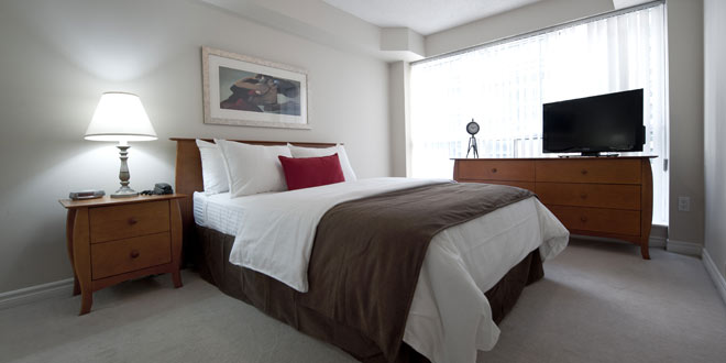 Downtown Toronto Furnished Rentals Icon Bedroom