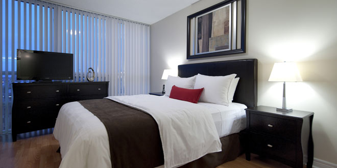 Scarborough Short Term Apartment Rentals 360 City Centre Bedroom