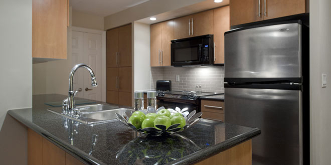 Markham Serviced Apartments Circa Kitchen