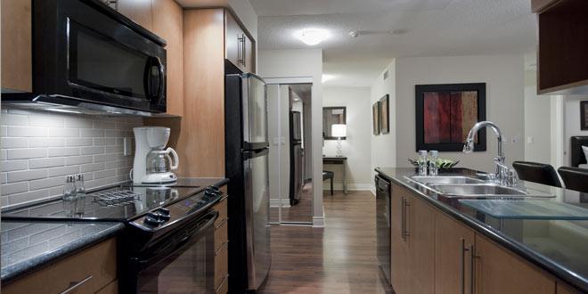 Markham Executive Rentals Circa Kitchen