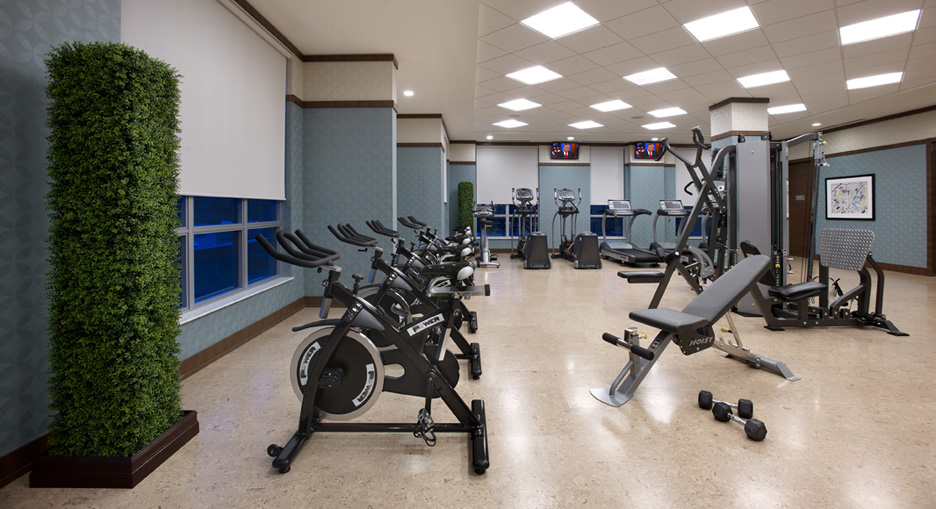 Etobicoke Short Term Rentals Parc Nuvo fitness centre