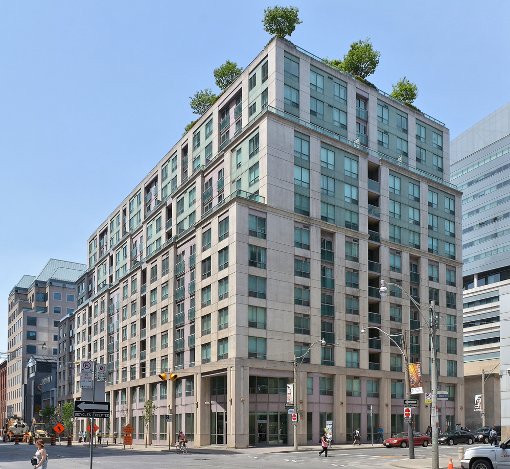 Downtown Toronto Executive Rentals Qwest Building