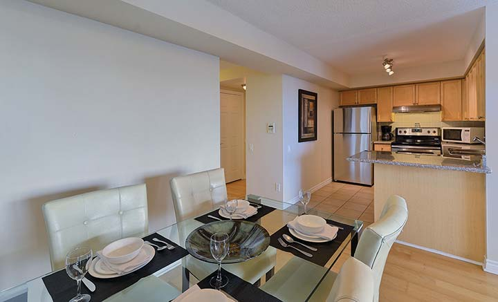 Scarborough Condo Rentals Forest Vista Dining Room