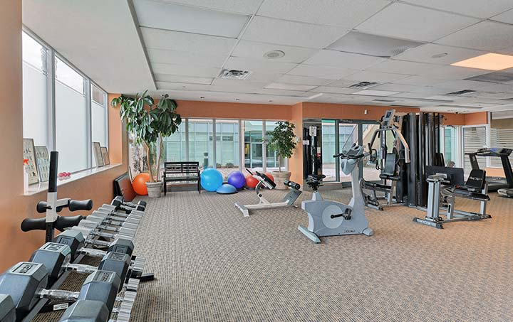 Scarborough Furnished Rentals Forest Vista Fitness Centre