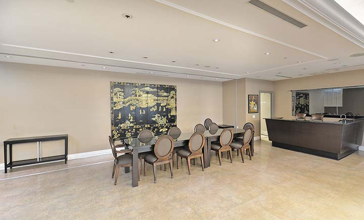 Scarborough Furnished Apartments Forest Vista Party Room