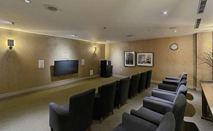 Scarborough Executive Rentals Forest Vista Theatre Room