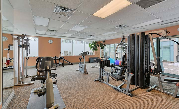 Forest Vista Furnished Rentals Scarborough Fitness Centre