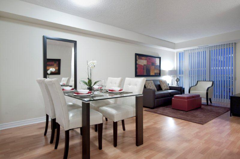 Scarborough Furnished Rentals 360 City Centre Living Room