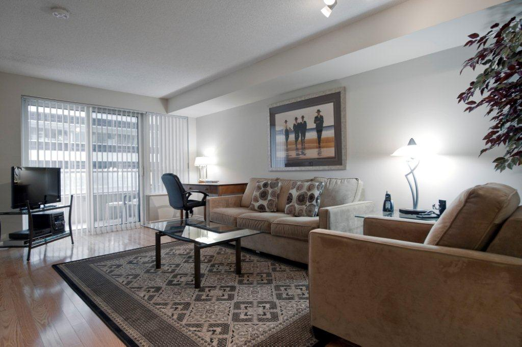 Downtown Toronto Short Term Rentals Icon Living Room