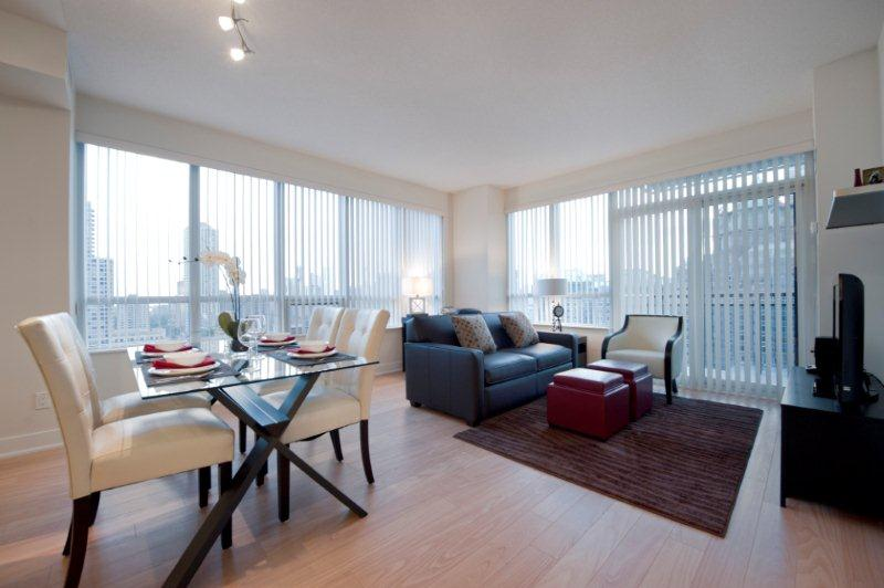 Downtown Toronto  Furnished Apartments James Cooper Mansion Lobby