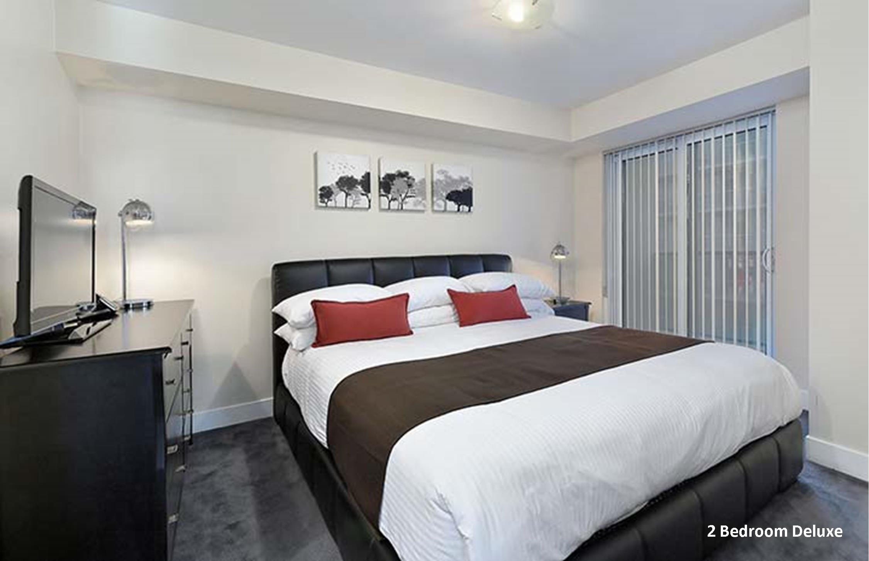 Element 2 Bedroom Deluxe Extended Stays Toronto Master Bedroom