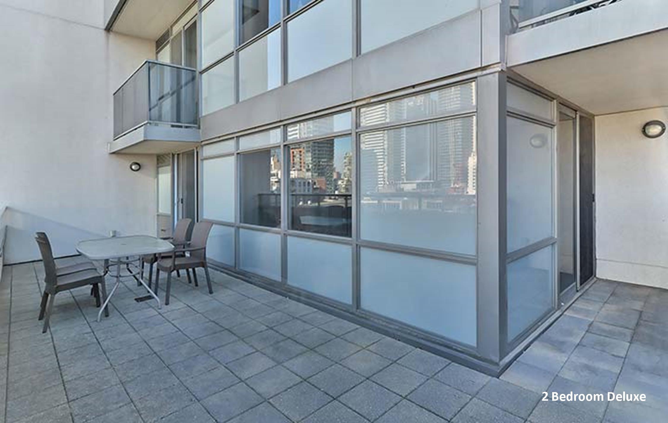Element 2 Bedroom Deluxe short term rentals Toronto Terrace