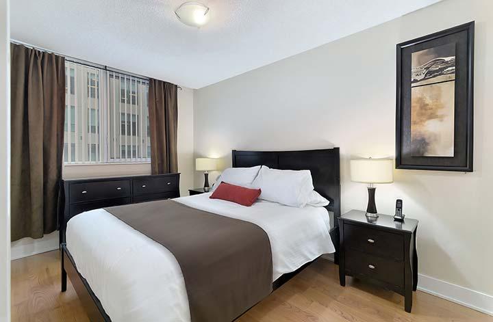 Downtown Toronto Condo Rentals Element Bedroom