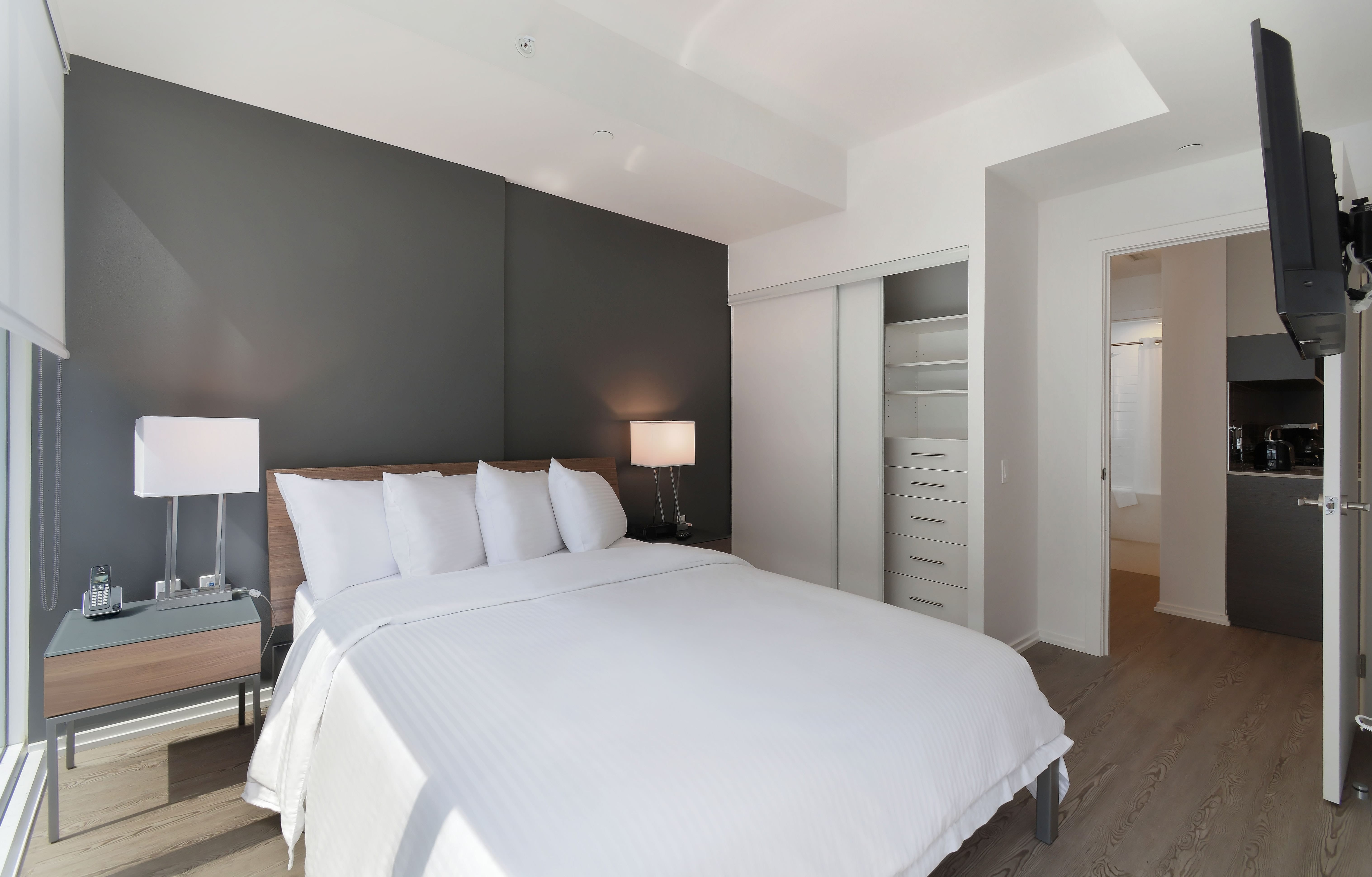 The Livmore Downtown Toronto Bedroom