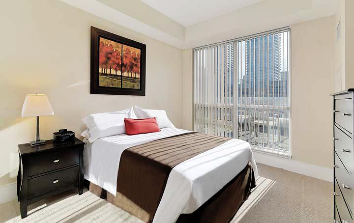 Roehampton Extended Stays Toronto - Master Bedroom