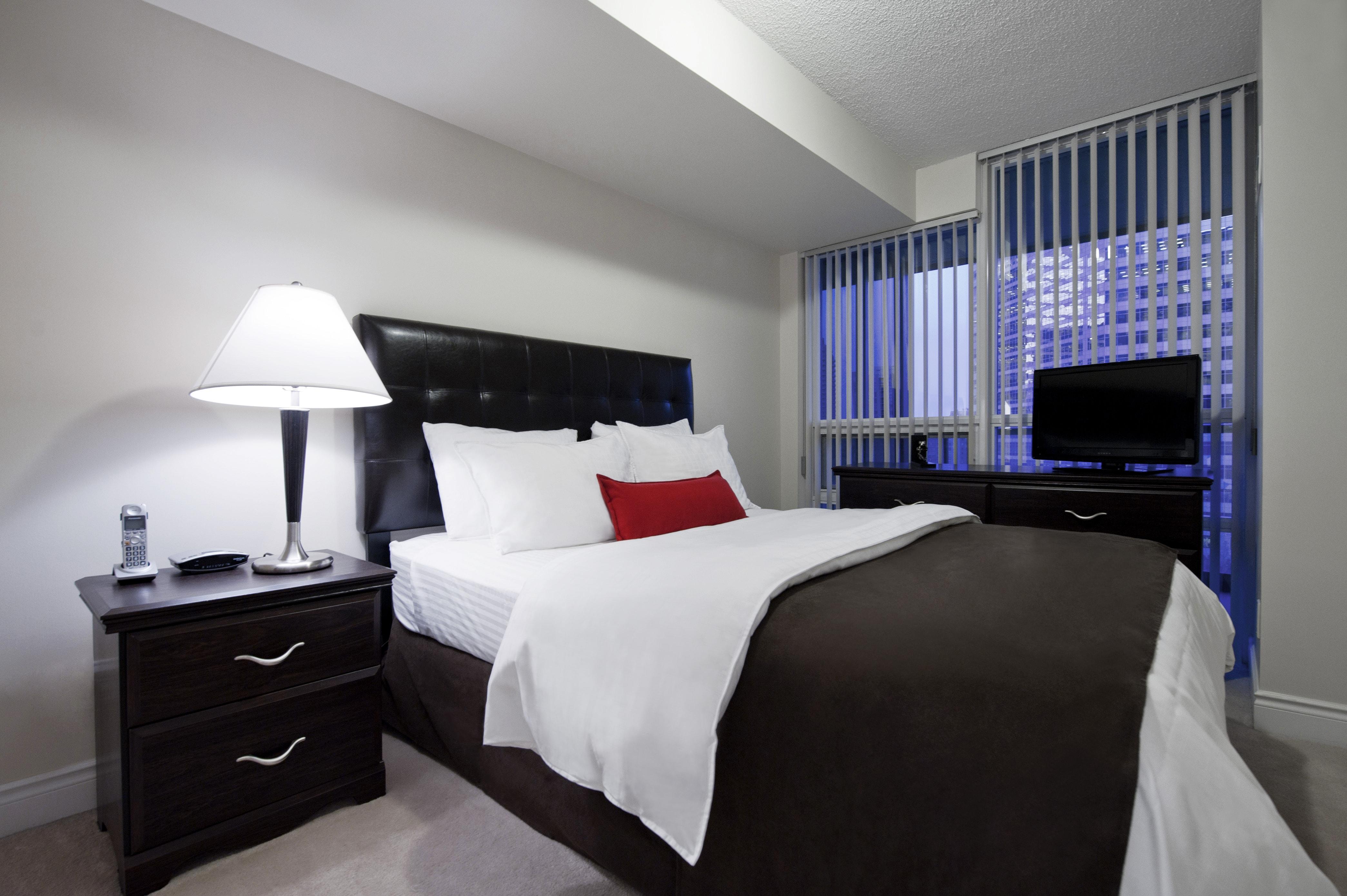 North York Executive Rentals Meridian Master Bedroom