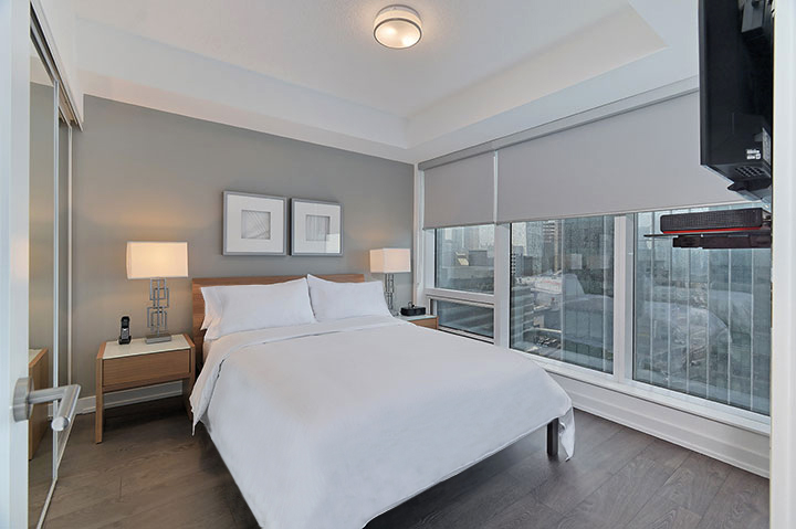 Ten York Condo Rentals Bedroom