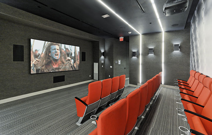 Ten York Theatre Room