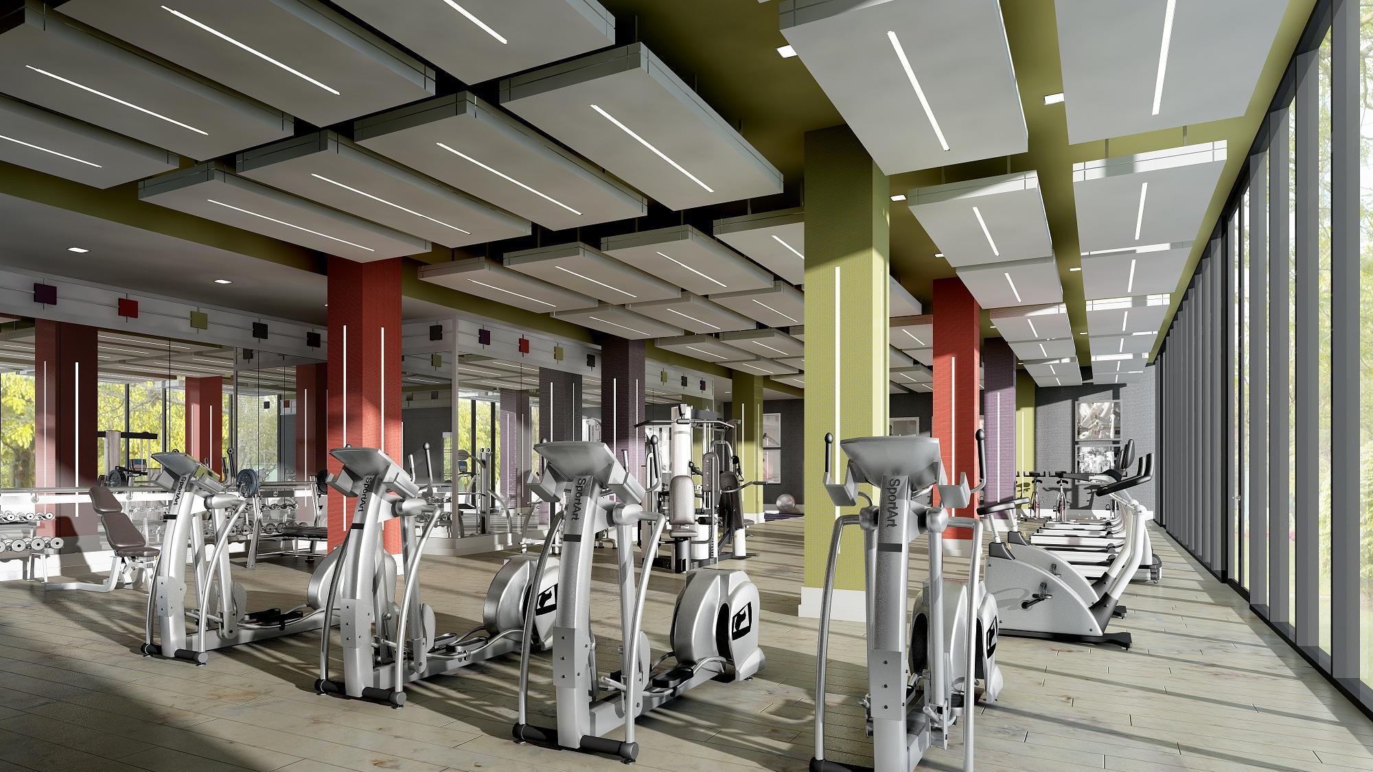 Alto at Atria Short Term Rentals North York Gym