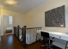 Etobicoke Executive Rentals parc nuvo townhouse den with workspace