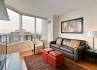 North York Short Term Rental Avondale Living Room