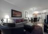 North York Short Term Rentals Meridian Living Room