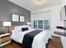 Etobicoke Corporate Housing Old Mill Bedroom